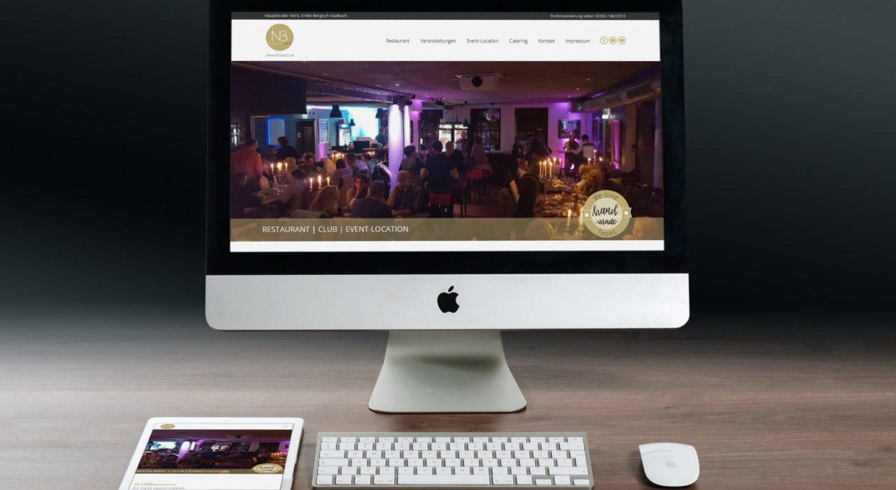 Restaurant Homepage | Referenz: Die Naschbar