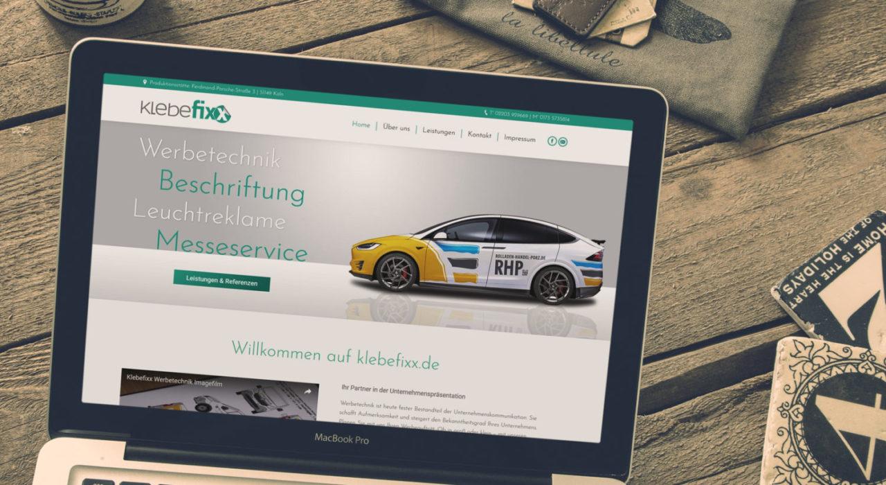 Werbetechniker Homepage | Referenz von Hepting Media Webdesign