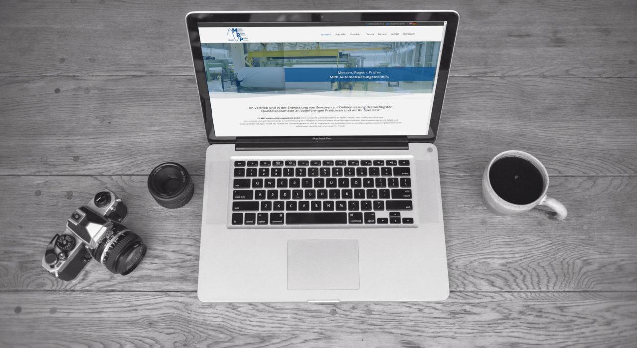 Joomla Homepage Bergisch Gladbach | Mockup MRP